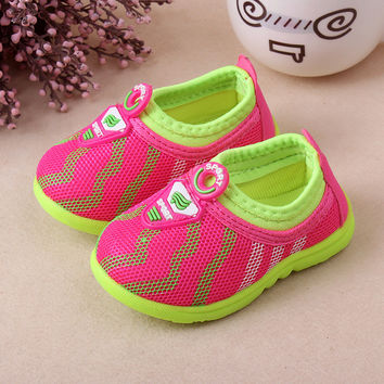 Summer New Style Children Hiking shoes Kids Sport Sneakers Child Boys and Girls Running shoes baby tennis shoes