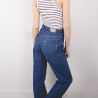 Vintage (Size Small) Levis 70s High Waisted Denim Jeans