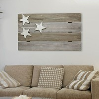 Stratton Home Decor Flag Wall Decor