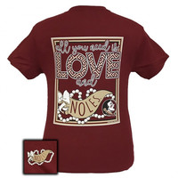 FSU Florida State Seminoles All You Need Is Love T-Shirt