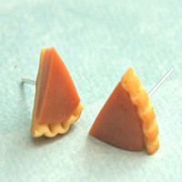 Pumpkin Pie Stud Earrings