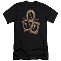 VAMPIRE DIARIES/HOLY CARDS-S/S ADULT 30/1-BLACK
