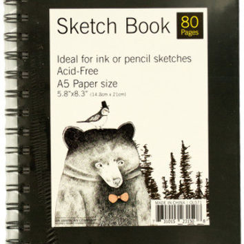 Wire Bound Sketch Book Case Pack 12