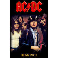 AC/DC Poster Flag