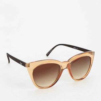 Quay Isabel Cat-Eye Sunglasses- Neutral One