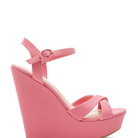 Eliza-25 I Can Strut Ankle Strap Wedge
