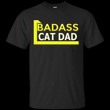 Custom Tee BadAss Cat Dad