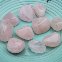 ROSE QUARTZ Love Stone - Connect With Unconditional Self Love & Heal Your Heart Chakra
