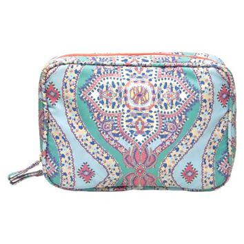 Contents Morgan Paisley Beauty Organizer Bag