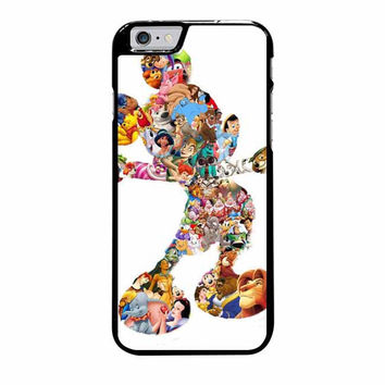 mickey mouse silhouette iphone 6 plus 6s plus 4 4s 5 5s 5c cases