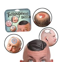 Tattoupees - Tattoos for Bald Heads