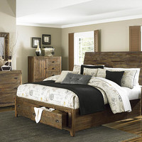 Wild River Queen Size Storage Bed