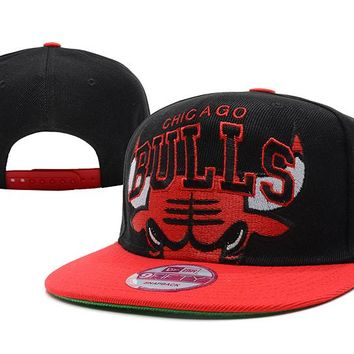 Chicago Bulls NBA 9FIFTY Hat Black-Red