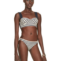 Kate Spade Nahant Shore Bralette With Underwire Rich Navy