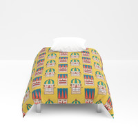 Day 09/25 Advent - Nut Crackin' Army Duvet Cover by lalainelim