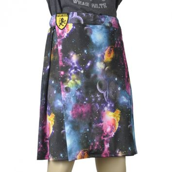 Men's Galaxy Running Kilt