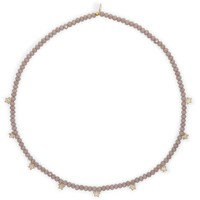 Crystal Collar - Lavender with Gold Stars