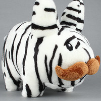 Kidrobot TheStache Labbit Plush in Zebra14 Inch : Karmaloop.com - Global Concrete Culture