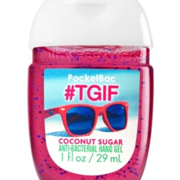 PocketBac Sanitizing Hand Gel #TGIF Coconut Sugar