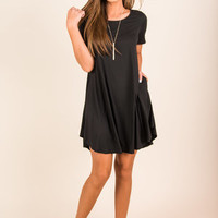 Just Can't Stop Dress, Black