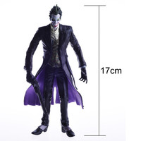 Arkham Batman Series The joker With Gun City Play Action Figure Statue