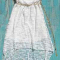 White Cowgirl Lace WEstern dress   Elusive Cowgirl