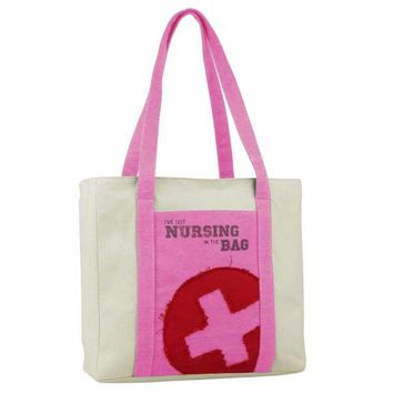 Nurse Tote Bag I've Got Nursing In The Bag Think Medical 01706