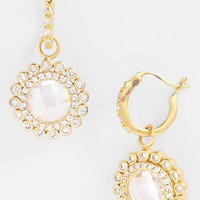 Women's Freida Rothman 'Hamptons' Sunflower Drop Earrings
