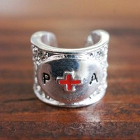 Stethoscope Charm for Physician Assistant PA