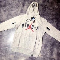 NIKE AIR JORDAN Woman Men Fashion Print Top Sweater Hoodie