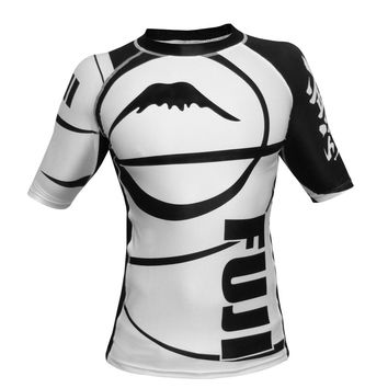 Fuji - Freestyle IBJJF Ranked Rashguard Short Sleeve (White)