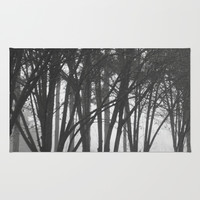 Foggy Days  Rug by KCavender Designs