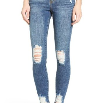 SP Black Destroyed Skinny Jeans | Nordstrom