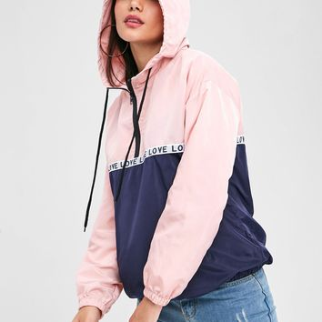 Wipalo Hoodies Women Clothing Autumn Winter Half Zip Patched Pocket Loose Sweatshirts Long Sleeve Pullover Casual Hooded Tops