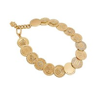 Versace - Medusa Coin Necklace
