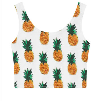 Pineapple Tank Top Vest