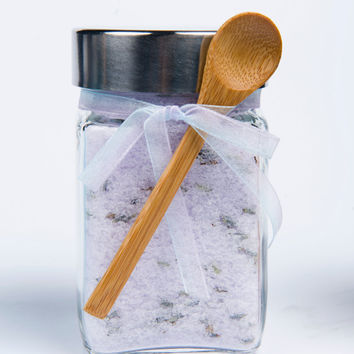 Bath Salts, Sea Salt Bath Soak, Scented- 1 jar, 10 oz