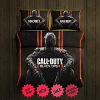Call of Duty fleece blanket large & 2 pillow cases # 97124850,97124852(2)