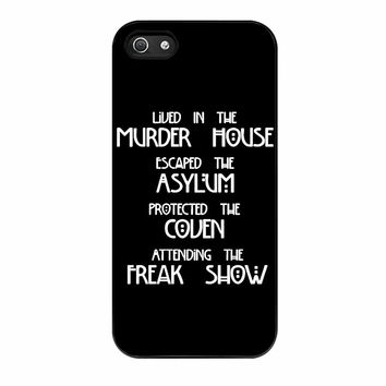 American Horror Story Four Seasons iPhone 5 Case
