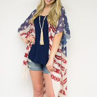 Stars & Stripes Cover Up