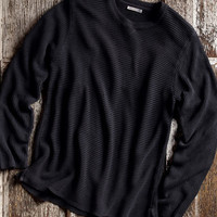 Black Forest Sweater-Carbon 2 Cobalt