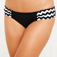 Seafolly Mod Club Bikini Briefs in Black - Urban Outfitters