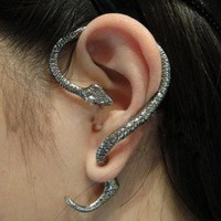 retro Snake ear stud/earrings