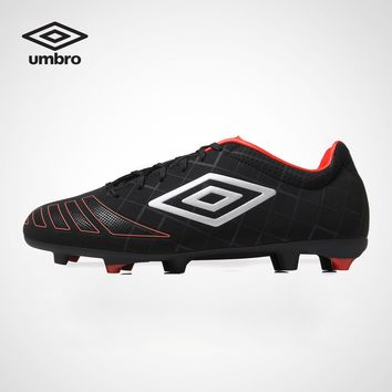 Umbro Football Shoes Men  UX Series Rubber Soles Anti Slip Adult Students Professional Training Sneakers Sports Shoes UCB90103