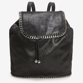 Stella McCartney Falabella Shaggy Deer Backpack- Available In Store Only-SPORTY EXTRAS-GIVE UNEXPECTED STYLE-What To Wear-Categories- IntermixOnline.com