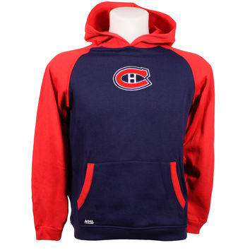 Montreal Canadiens CHILD Raglan Pullover Hoodie