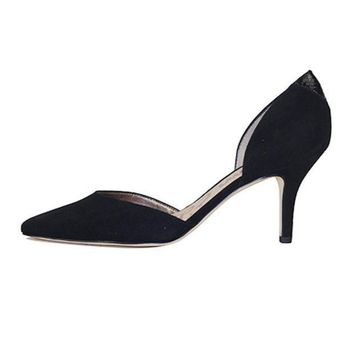 Sam Edelman For Women: Opal Black Suede Heel