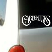 CARPENTERS Sticker Decal Vinyl Band Heavy Metal Music  Car Window