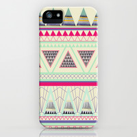 Aztec iPhone & iPod Case by Dream_scape