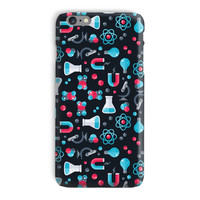 Scientist STEM Phone Case in Science Design - iPhone 6, 6s, 5 and Samsung Galaxy S7, S6 Edge Case